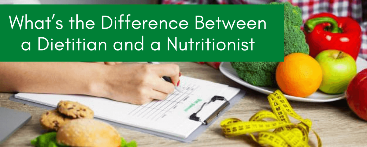 Dietitian vs Nutritionist